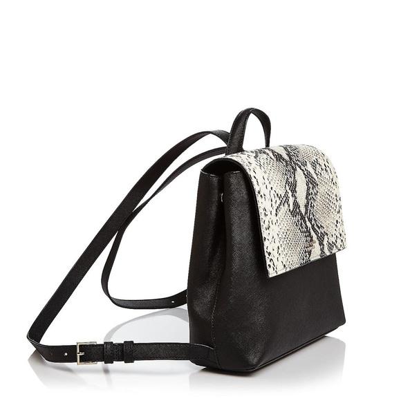 Kate Spade Cameron Street Snakeskin Leather Embossed Backpack